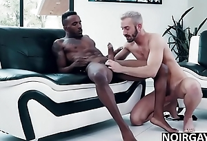 Black and washed out gay swimsuit models fuck