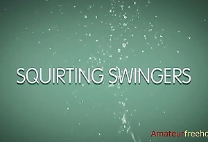 Squirting Swingers (go to the link to watch the physical video)