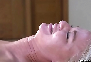 Fat Bristols Milf in subjection gets anal fucked