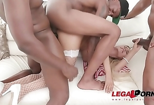 Florane Russell first as a last resort double penetration