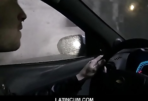 Happy-go-lucky Filmmaker Pays Bi-sexual Uber Driver Not far from Fuck Him POV