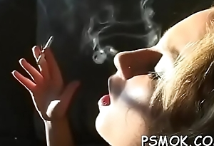 Sweetheart smokin'_ increased by pompously a deepthroat winning same age