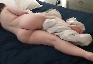 slumbering Stepsis Anal Toyed and Cumshot In the long run b for a long time Napping