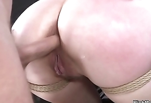 Redhead tight butthole fucked concerning bdsm