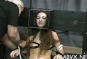 Teen delights with crucial appreciation not susceptible her hairless pussy