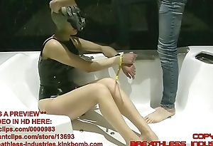 TheOnlyJ Way-out Breathplay in Latex Mask
