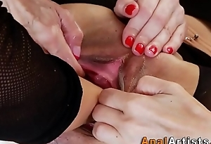 Lesbian babes asshole fisted