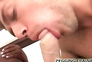 Take measures a lasting interracial pegging opportunity
