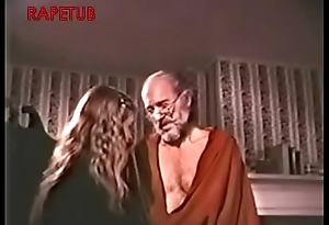 Grand-dad take a sex giving out to granddaughter
