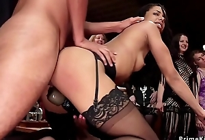 Hot lesbians screwing and fisting fuckfest