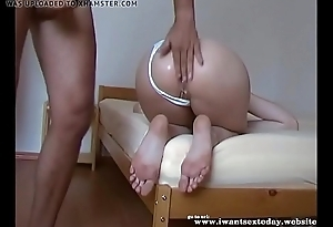 Deep anal in along to naughty